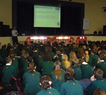 Presentation about school